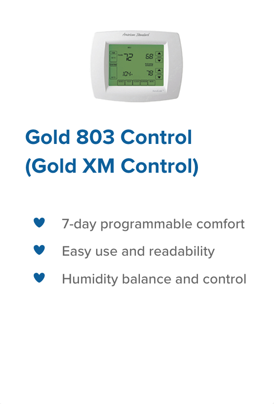 Gold 803 control climatech