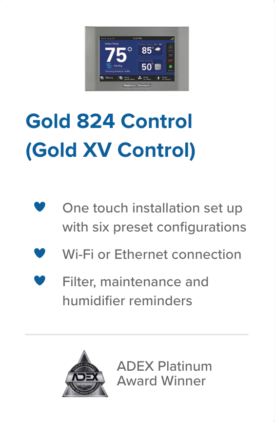 Gold 824 Control climatech