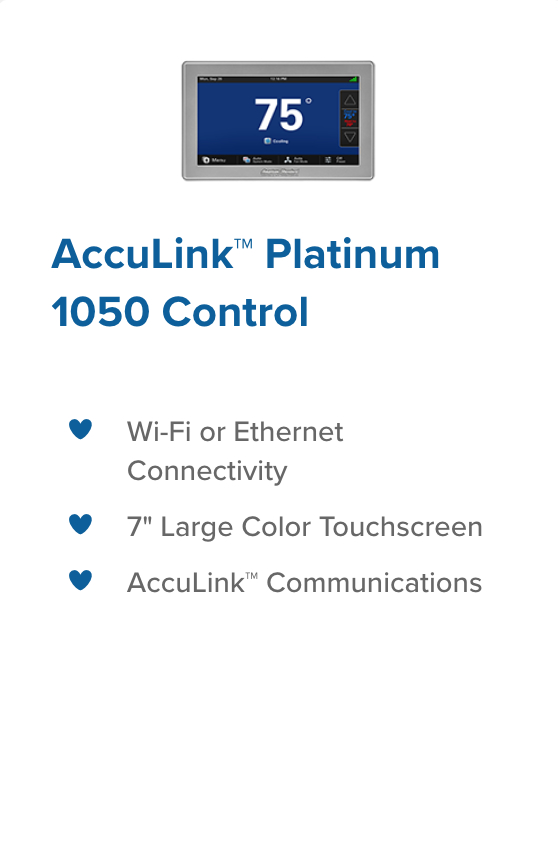 acculink 1050 control climatech