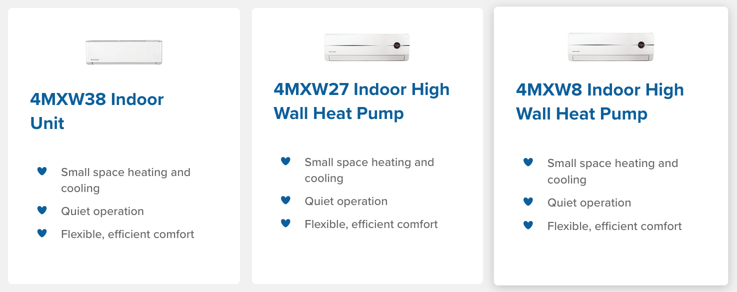 indoor ductless units climatech pro air