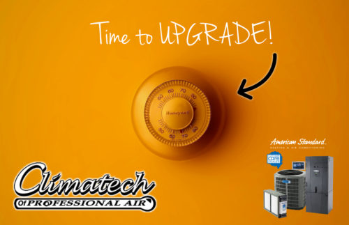 Why is it important to replace your old thermostat?