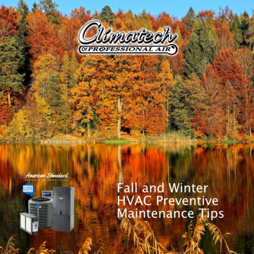 Fall & Winter Preventative HVAC Maintenance Tips